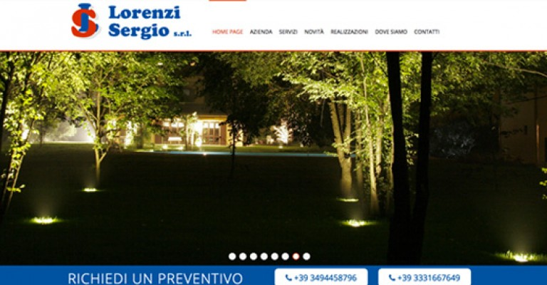 lorenzi sito online